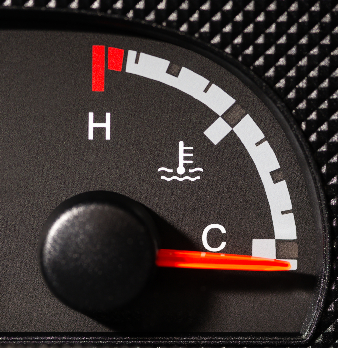 where is the engine coolant temperature sensor located