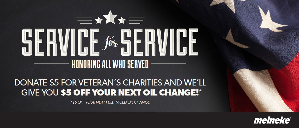 Serving Those Who Serve: Meineke Gives Back to Veterans